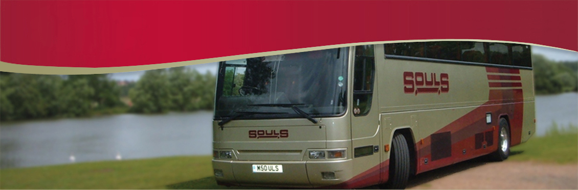 Souls Coaches cater for a variety of needs. We operate a fleet of around 50 vehicles ranging from luxury executive coaches to practical school coaches.