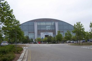 A view of the awesome Xscape, a staple place to go if you're looking for things to do in Milton Keynes